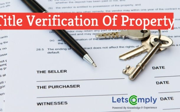Title Verification Of Property In India   Property Title Verification