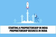 Starting a Proprietorship in India | Proprietorship Business in India